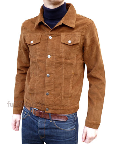 On a budget: 1960s-style cord jackets at Fuzzdandy