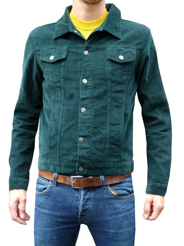 1960s-style cord jackets at Fuzzdandy