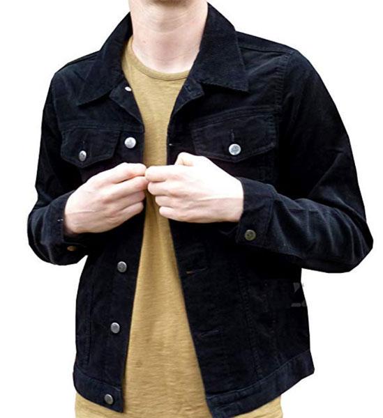 Budget 1960s-style cord jackets at Fuzzdandy