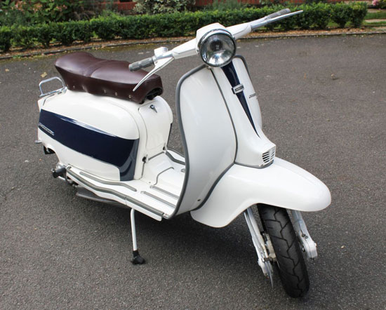 eBay watch: Italian 1967 Lambretta Li 125 scooter
