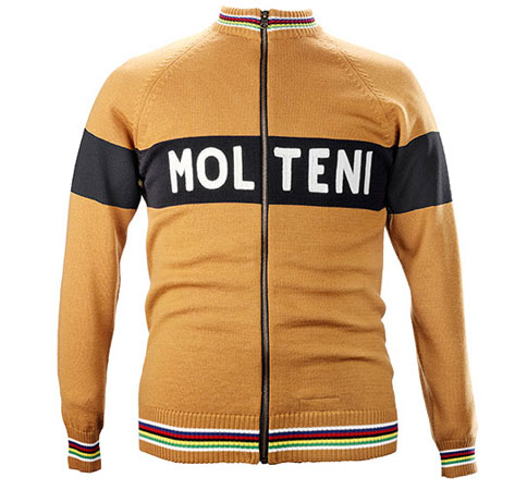 Vintage-style winter cycling tops by Magliamo