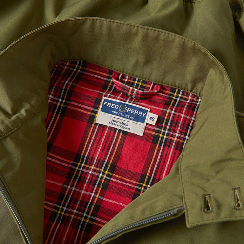 Autumn colours: Fred Perry Reissues Made in England Harrington Jacket