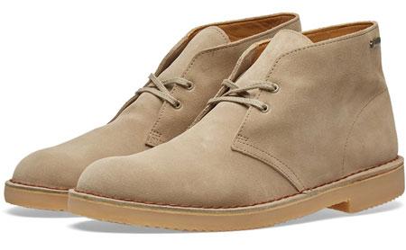 Classic Clarks Originals Deserts Boots return a Gore-Tex finish