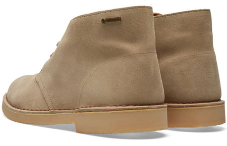 Classic Clarks Originals Deserts Boots return a Gore-Tex finish
