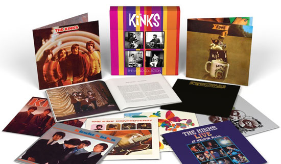 The Kinks limited edition Mono vinyl box set