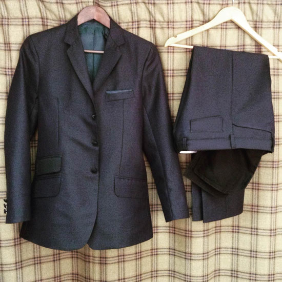Semi bespoke 2 piece from 2ply mohair.