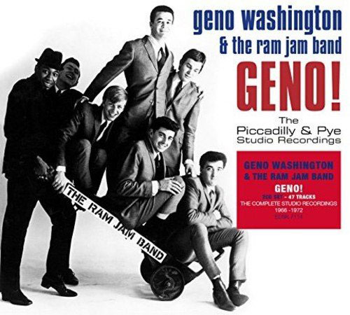 Coming soon: Geno Washington – Geno! The Piccadilly & Pye Studio Recordings and Live! box set (Demon Records)