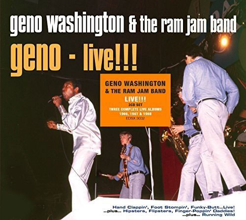 Geno Washington - Geno! The Piccadilly & Pye Studio Recordings and Live! box set (Demon Records)
