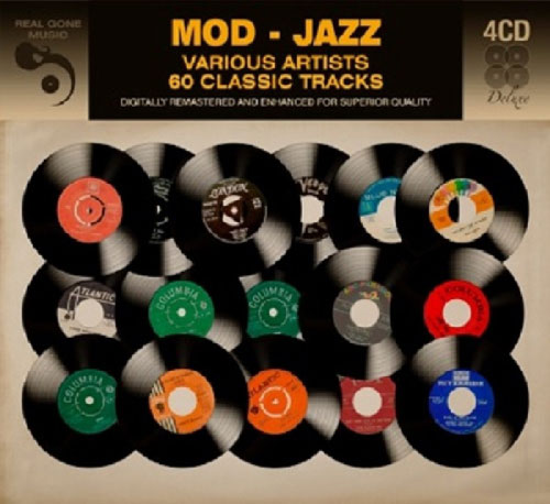 Budget collection: Mod Jazz four-CD box set