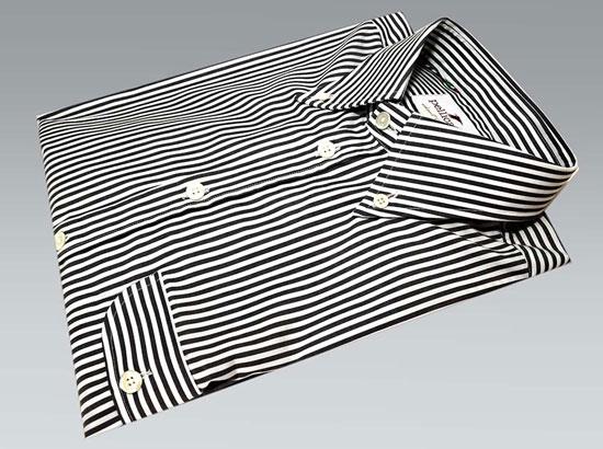 Pellicano x Modern Classic limited edition Geno striped button-down shirt