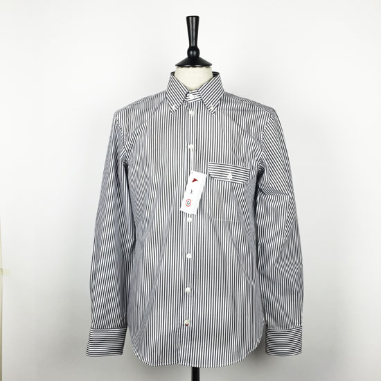 Pellicano x Modern Classic limited edition Geno striped button-down shirt