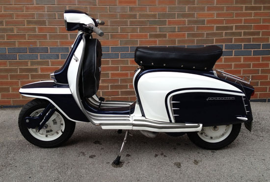 eBay watch: 1963 Lambretta TV 200 GT scooter