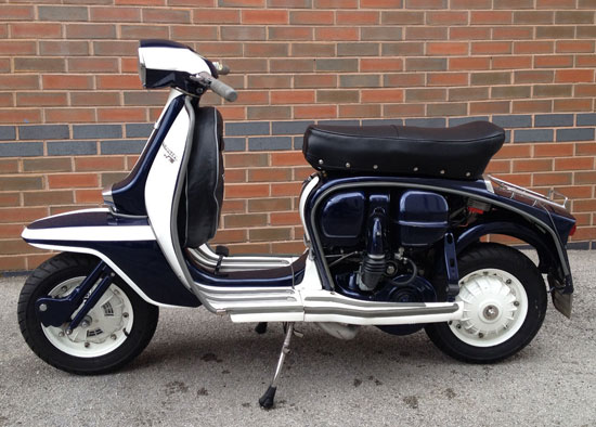 1963 Lambretta TV 200 GT scooter