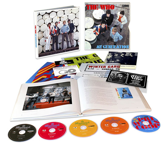 The Who's debut My Generation album to be reissued as a five-CD and three-LP box set