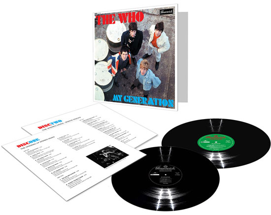 Vinyl editions of The Who's My Generation reissues revealed