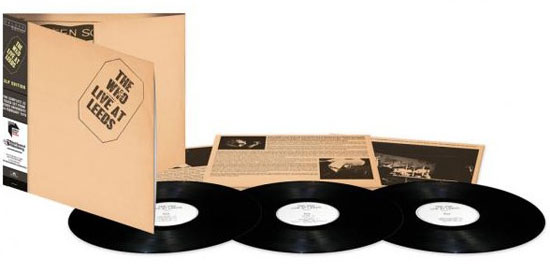 Coming soon: The Who - Live at Leeds triple vinyl LP reissue