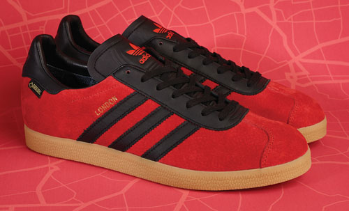 Adidas Originals Gazelle GTX London trainers heading to Size? online