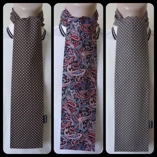 Pretty Soul 1960s-style handmade scarves