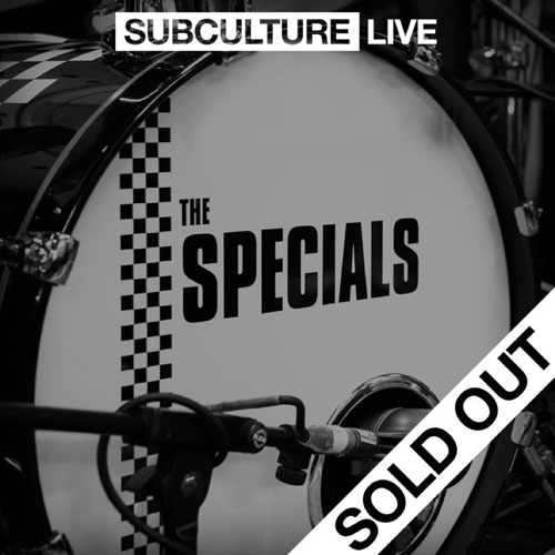 The Specials final UK tour gig streaming live via Fred Perry Facebook live