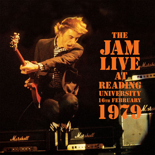 The Jam - Live At Reading University 1979 available to pre-order on vinyl
