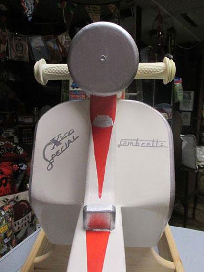 Grab a custom-made rocking Lambretta SX scooter