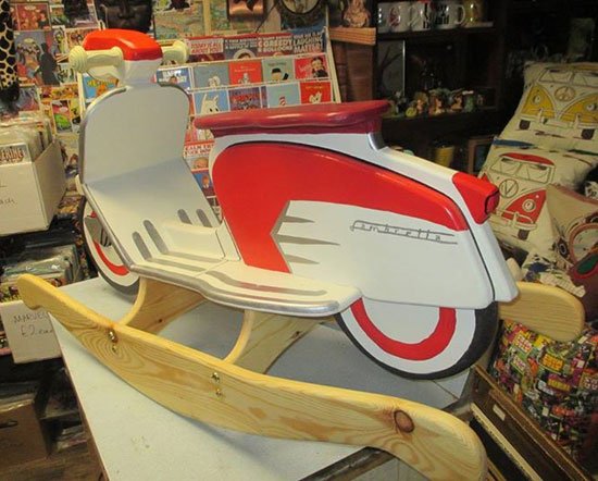 Grab a custom-made rocking Lambretta SX scooter