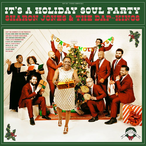Sharon Jones & the Dap-Kings' It's A Holiday Soul Party gets a limited edition green vinyl repress