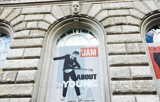 7. The Jam About The Young Idea exhibition in Liverpool