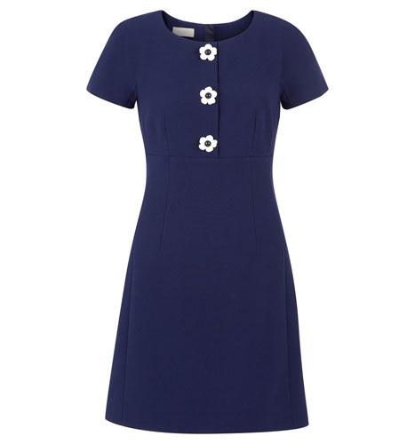 High street mod: 1960s-style July Dress at Hobbs