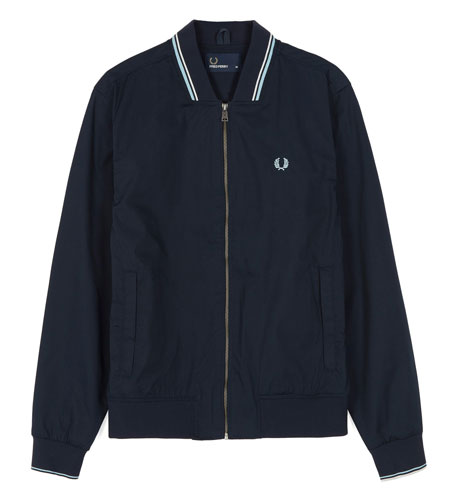 Fred Perry twin tipped bomber jacket returns in two colours