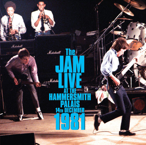 Coming soon: The Jam – Live At Hammersmith Palais double vinyl album