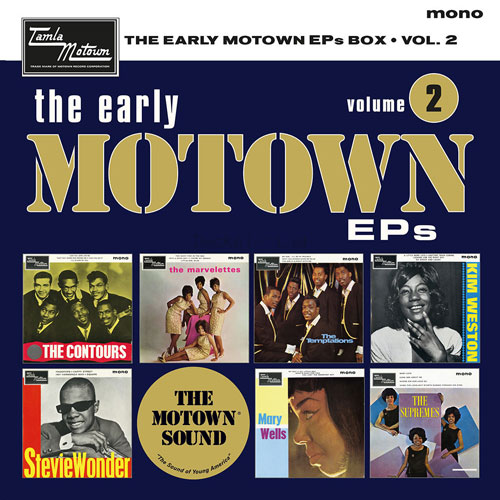 On pre-order: The Early Motown EPs Volume 2 box set