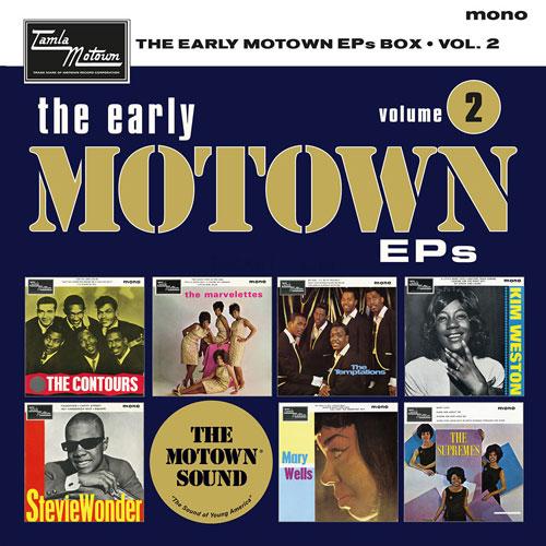 On pre-order: The Early Motown EPs Volume 2 box set