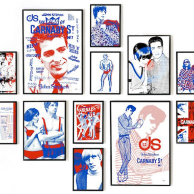 Officially licensed John Stephen pop art collection by Art & Hue