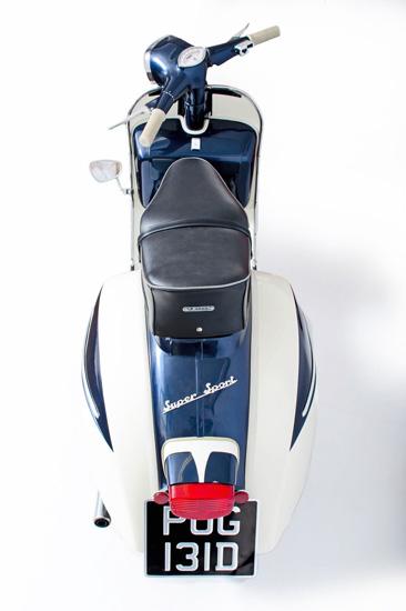 eBay watch: 1966 Vespa SS180 Eddy Grimstead 200 Replica scooter