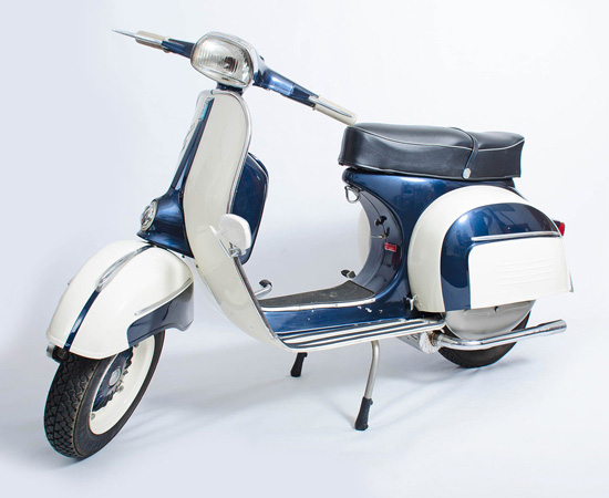 eBay watch: 1966 Vespa SS180 Eddy Grimstead 200 Replica scooter