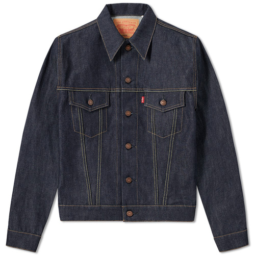 Levi's Vintage 1967 Type III Trucker jacket in rigid denim