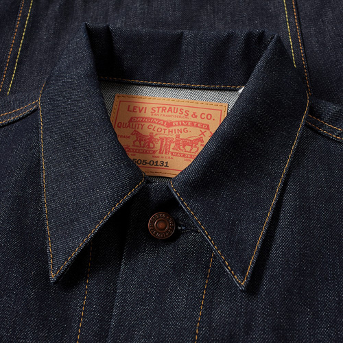 Levi's Vintage 1967 Type III Trucker jacket back on the shelves in rigid denim