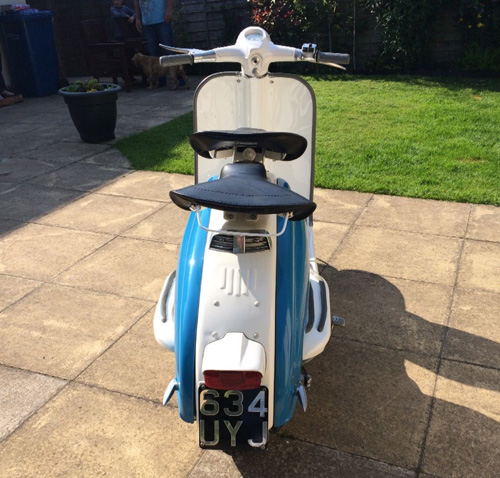 eBay watch: 1960 Lambretta Li150 Series 2 scooter