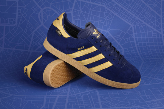 Adidas Gazelle GTX Milan trainers are a
