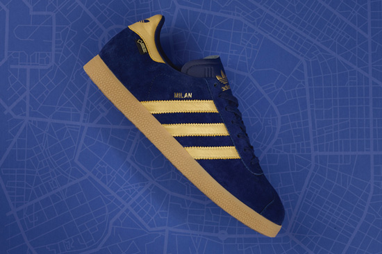 Adidas Gazelle GTX Milan trainers are a Size? exclusive
