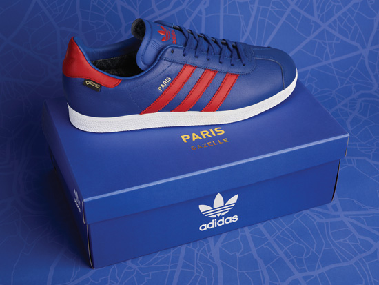 Coming soon: Adidas Originals Gazelle GTX Paris trainers