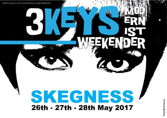 3 Keys Modernist Weekender in Skegness