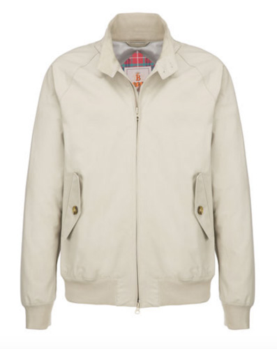 Baracuta introduces the G9 Ventile Harrington Jacket