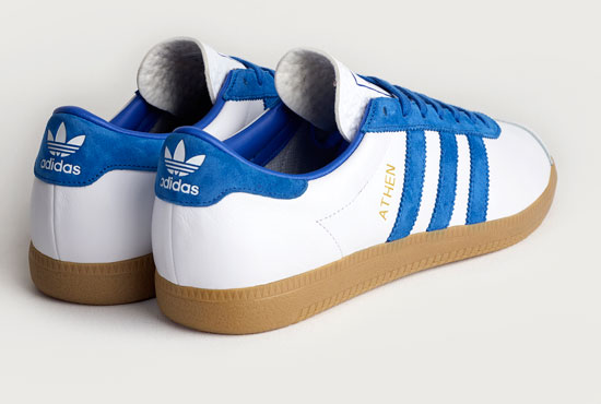 Coming soon: Adidas Originals Archive Athen trainers in white leather
