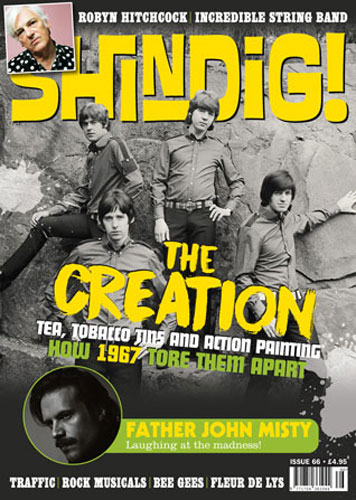 The Creation head up the new Shindig! magazine