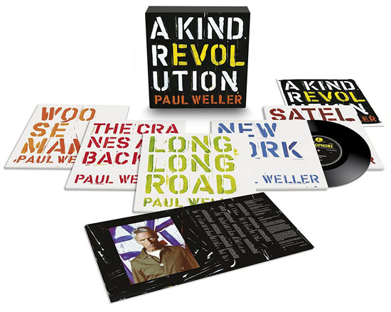 Closer look: Paul Weller - A Kind Revolution box set
