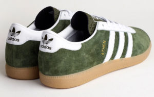 Coming soon: Adidas Athen trainers in Forest Green suede
