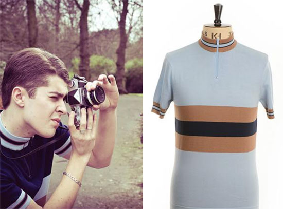 Keith cycling-style shirt - £65