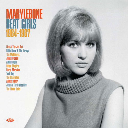 Marylebone Beat Girls 1964-1967 on CD and vinyl (Ace Records)